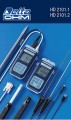 HD2101.1 AND HD2101.2 HYGRO-THERMOMETERS
