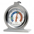 Stainless steel fridge/freezer thermometer